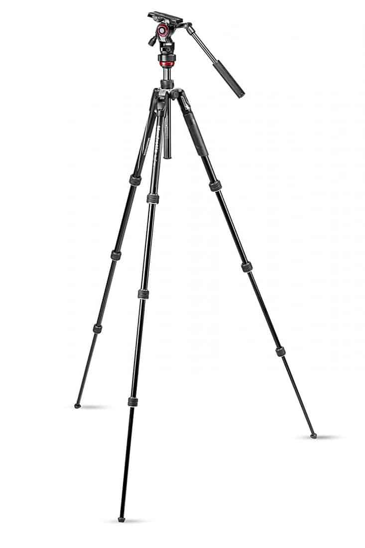 manfrotto befree aluminum video tripod beirut lebanon dslr-zone.com