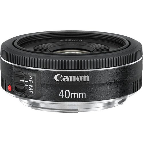 Canon EF 40mm f/2.8 STM Lens - Fixed A unique and indispensable addition to Canon's series of EF lenses Beirut Lebanonthe EF 40mm f/2.8 STM offers an ultra-slim and lightweight design. Incredibly compact in size, the EF 40mm f/2.8 STM delivers high image quality from the center to the periphery thanks to its advanced lens configuration including an aspherical element, a bright 2.8 aperture, and optimized coatings that minimize ghosting and flare while providing exceptional color balance. The EF 40mm f/2.8 STM's unobtrusive design helps the photographer avoid overwhelming their subjects with a large lens and to remain discreet in sensitive shooting situations with no compromise in performance. Its diminutive design is complemented by features such as a developed stepping motor for smooth and quiet continuous AF while capturing video with the Canon EOS Rebel T4i DSLR, a circular aperture (7 blades) for beautiful soft-focus backgrounds, and a short minimum focusing distance of only 0.98 ft./0.30 m.